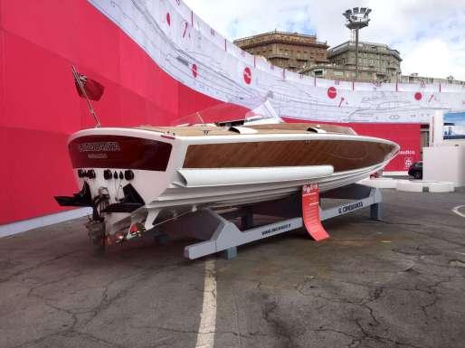 Sezione galleggiante imbarcazioni Levi – Banchina D – Salone Nautico Genova
