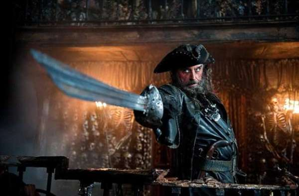 Barbanera da film i pirati dei caraibi