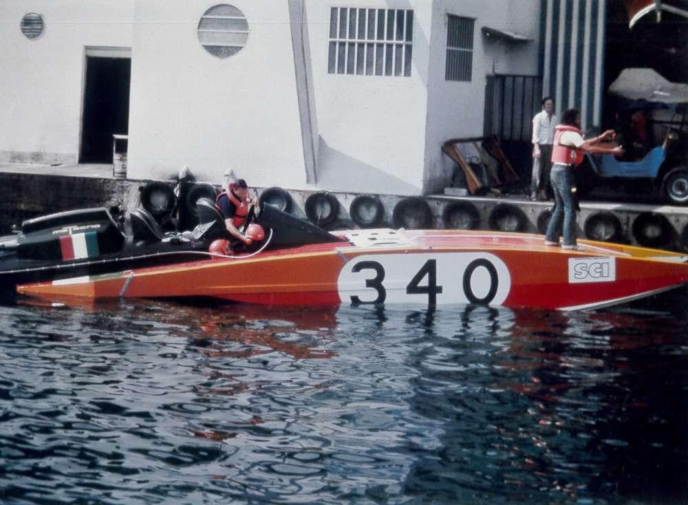 Arcidiavolo II - Record velocità Sarnico