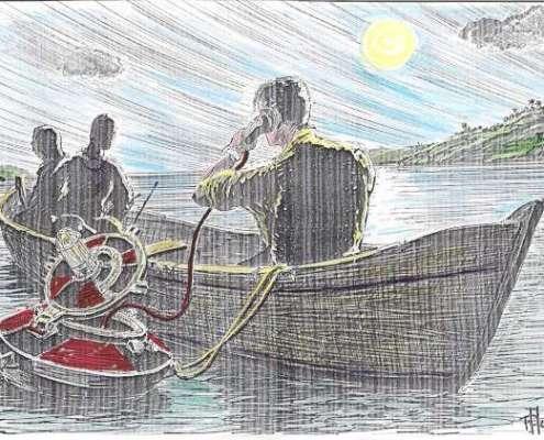 Attanasio comunica con il Cte del Da Vinci