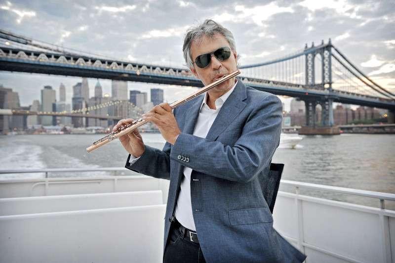 Andrea Bocelli a New York
