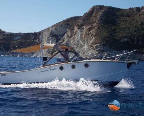 Barca Sarima Blue Scar