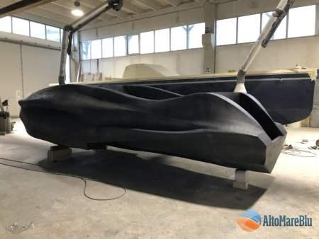 Mambo imbarcazione in vetroresina stampata in 3D