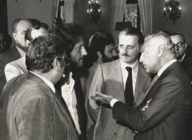 Gianni Agnelli con Antonio Soccol