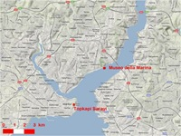Istanbul-map