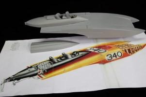 Prototipo modellino Arcidiavolo disegno da Milestones in My Designs