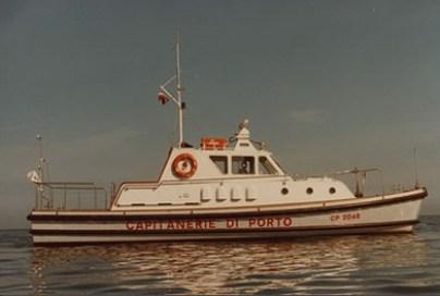 Storia delle Motovedette Capitaneria di Porto tipo Nelson CP 2046