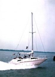 Barca Classica exocetus prime prove a motore 005