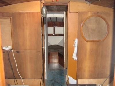 Restauro degli interni barca Synthesis