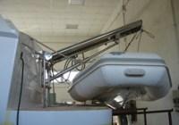 fasi creazione staffe acciaio inox chiudibili per supporto tender