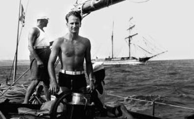 il capitano Bonivento, nativo di Ischia, al timone