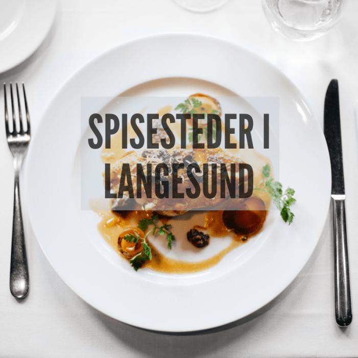 Restauranter og spisesteder i Langesund