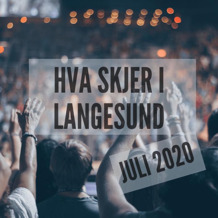 Hva skjer i Langesund juli 2020