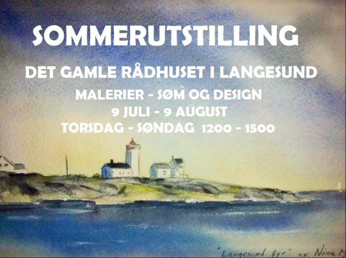 Sommerutstilling – Det Gamle Rådhuset i Langesund