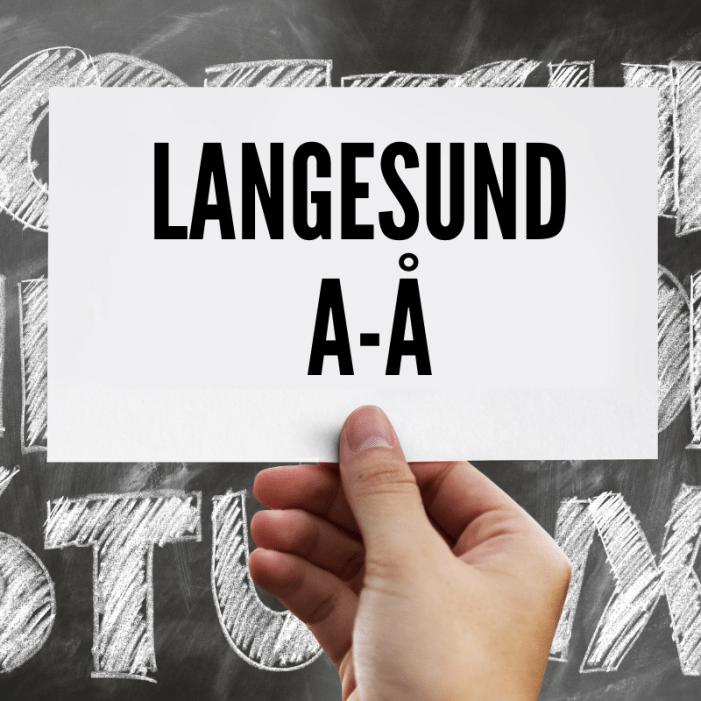 Langesund A-Å