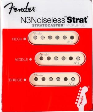 Fender N3 Noiseless Pickup Set for Strat | AltoMusic
