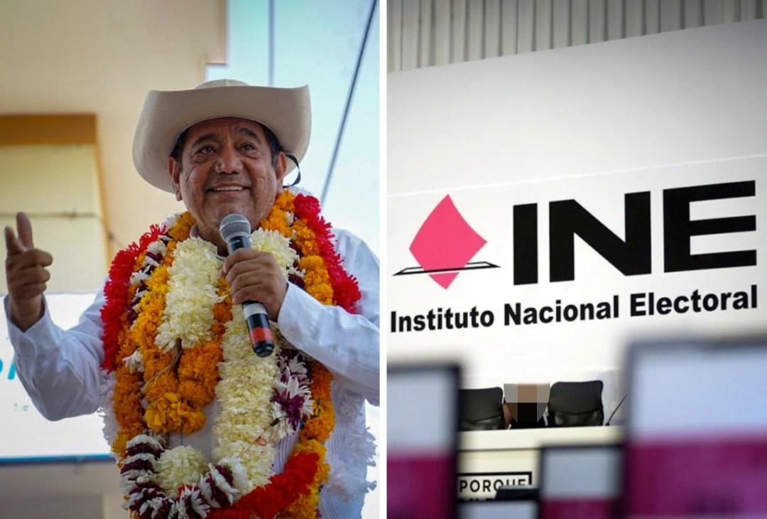 El INE mantiene la cancelación de la candidatura de Félix Salgado Macedonio al gobierno de Guerrero