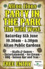 Alton Lions Party in the Park- The Wild West