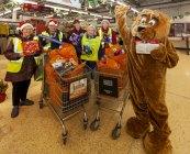 Alton Lions Club (CIO) & Sainsbury's combine to bring Christmas cheer