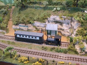 Quarry Hill Station, from the OO9 Nettlecombe