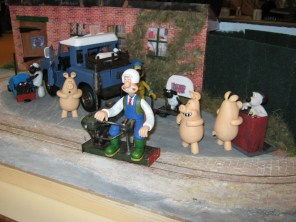 The Wallace and Gromit Shunt-O-Matic