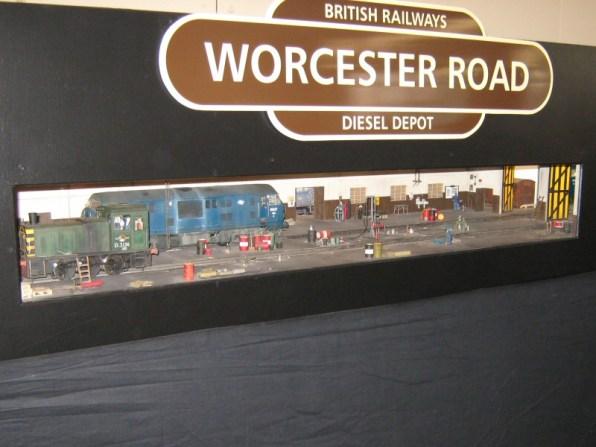 The Gauge One Diesel depot Worcester Road