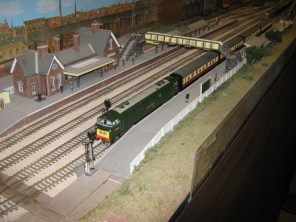 A Great Western OO Gauge layout