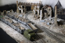 More of the S Scale World War One Wipers, Fish Hook and Menin Railway