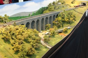 One of two large spans on the N Gauge 'Dentdale'