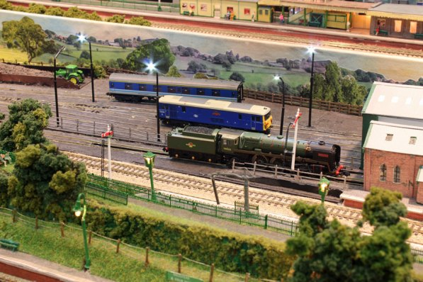 Ropley engine sheds