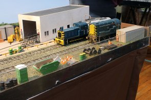 Two shunters on Figges Marsh TMD