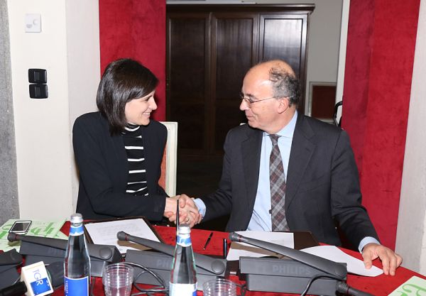 La sindaca Appendino e il rettore Ajani hanno firmato la convenzione tra Città e Università