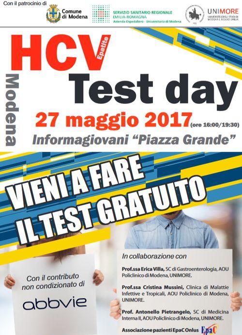 locandina test hcv