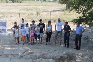 La conferenza stampa di presentazione dei risultati dello scavo
