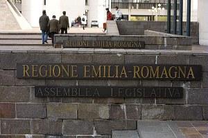 Sede Regione, l'ingresso dell'Assemblea legislativa