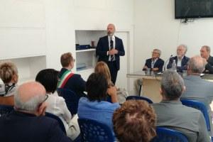 Inaugurazione Museo Linea Gotica  22 agosto - interno