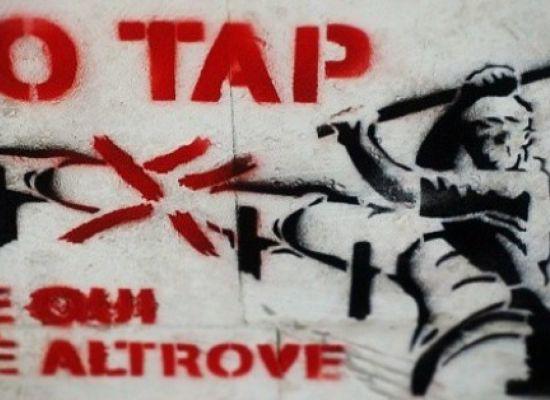 """Multe notificate ai manifestanti """"NO TAP"""""""
