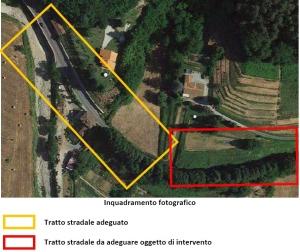 curva Bollore SP1 via per Camaiore (IV lotto)