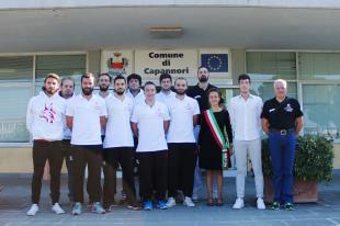 La Polisportiva Capannori ricevuta in Comune dall'assessore Frediani