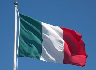 Una bandiera italiana
