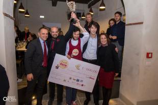 La premiazione di Simone Carmassi