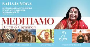 Giovedì 11 gennaio inizia un percorso dedicato alla meditazione con lo Sahaja Yoga