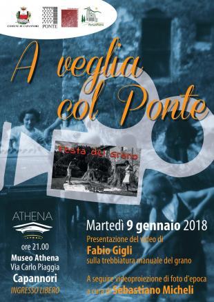 Martedì 9 gennaio ad Athena l'iniziativa 'A veglia col Ponte'