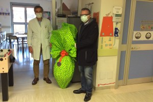 Ass. Donini visita Ospedale Piacenza 2 - 9 aprile 2020