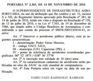 Diário Oficial da União(Foto: reprodução)