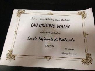 Scuola Regionale Pallavolo, al San Giustino Volley il riconoscimento