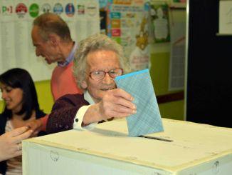 Elezioni Europee, al seggio anche la nonna record Luisa Zappitelli
