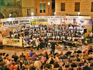 Rassegna delle Bande Musicali, dal 4 al 10 settembre 2016 a Umbertide