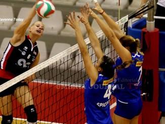 Sia Coperture San Giustino volley perde a Ravenna