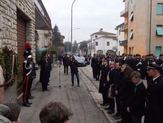 Commemorato l'appuntato Donato Fezzuoglio barbaramente ucciso il 30 gennaio 2006
